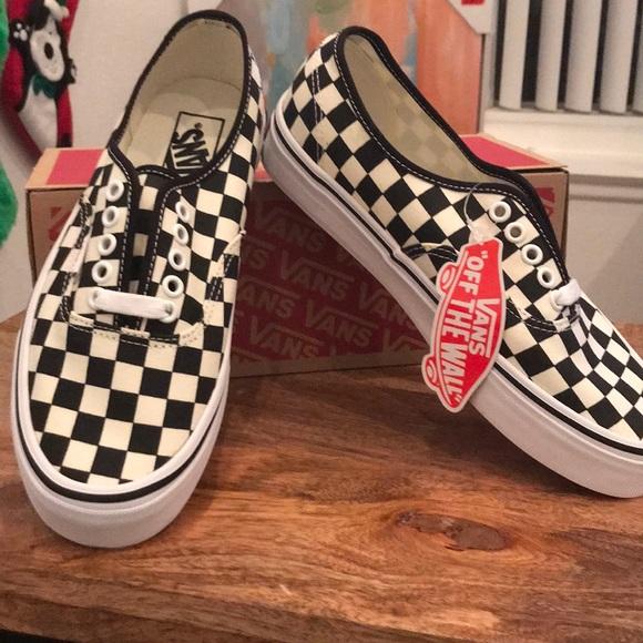 "745ac551c42 New Women s 8.5 Vans""Gold Coast""checkerboard w tag"